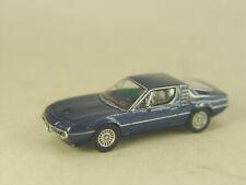 Alfa Romeo Montreal in blaumet. - Premium ClassiXXs HO 1:87 - 958384 #E