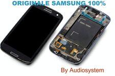 GLS: DISPLAY LCD+VETRO ORIGINALE per SAMSUNG GALAXY S3 NEO GT i9301 COVER NERO