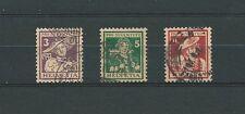 SWISS / SUISSE - 1916 YT 151 à 153 / MI 130 à 132 - OBL. / USED - COTE 130,00 €