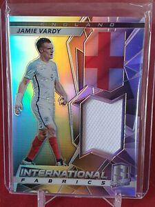 Jamie Vardy England Panini Spectra 2016/17 Player Worn Jersey Card 1 of 149