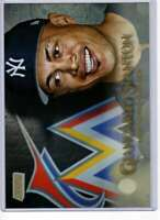 Giancarlo Stanton 2019 Topps Stadium Club 5x7 Gold #22 /10 Yankees