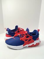 Nike React Presto (Mens Size 10.5) Shoes CW5586 400 USA Blue Red White
