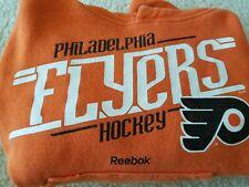 RBX Kids Philadelphia Flyers Orange Hooded Sweatshirt: Size Medium (5/6)