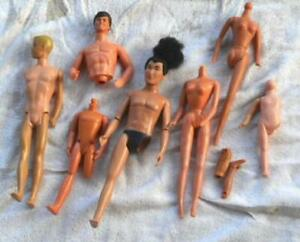 Lot of Barbie Ken Other Dolls & Body Parts For Parts and Repair