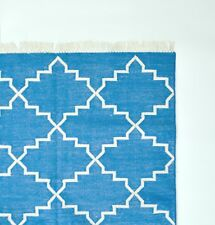New cotton handmade rugs dhurries to decorate any room home/office 2.5 x 8 feet