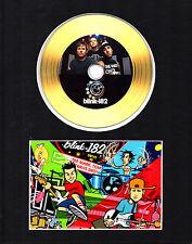 Blink 182 Gold Disc Display #1