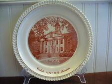 Imperial China Root Hall Carlisle Barracks 1757 - 1957 Plate