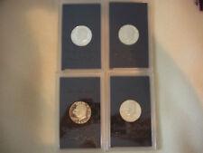1971 1972 1973 1974 (4) Eisenhower Dollar Proof Sets