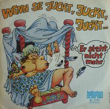 """7"""" 1970 RARE MINT-! ACHMED & CLOTHILDE : Wenn Sie juckt"""