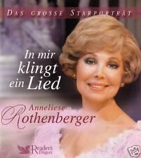 ANNELIESE ROTHENBERGER - 3 CD - In mir klingt ein Lied