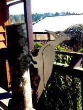 Cut Metal Rusty Pileated Woodpecker Bird Garden Home Yard Outdoor Lawn Art Decor