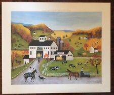 Linda Nelson Starks - Autumn Colors - Signed Limited Edition Print 384/500 1981