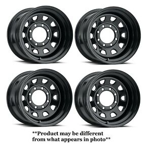 Vision 55 Aluminum Rally 20x8.5 5x127//5x4.75-6mm Gunmetal Wheel Rim
