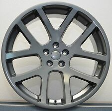 "4) 20"" Stagger Set Viper Challenger 300C Charger Magnum Wheels Rims Comp Grey"
