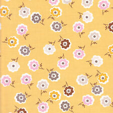 Half Metre Quilting Fabric Riley Blake Daisy Cottage Mini Floral Yellow