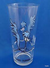 Warner Bros Looney Tunes Road Runner Pepsi Glass 1973 Tumbler Black