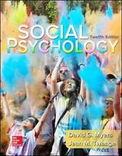 Social Psychology by David G. Myers and Jean M. Twenge (2015, Ringbound)