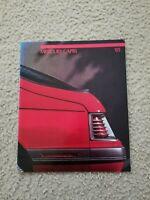 1985 Mercury Capri Dealer Showroom Brochure