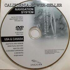2007-2008 Jaguar Navigation DVD USA & Canada 6W83-10E898-BB 464210-5591 OEM