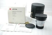 """RARE NEAR MINT in BOX""Leica ELMARIT-M 21mm f/2.8 ASPH in Silver #3482"