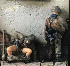"""1:35 """"Things to Do"""" German Soldiers Poop & Pee, Resin Model Kit, 2 Figures, WWII"""
