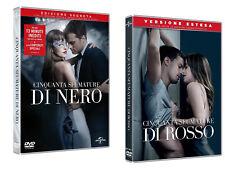 Dvd 50 Cinquanta Sfumature di Nero Rosso - Versione Estesa .....NUOVO