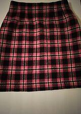 Ann Taylor Womens Skirt Size 6 Black, Red, White Mini