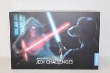Star Wars Jedi Challenges AR Headset with Lightsaber byLenovo - Black