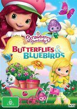 Strawberry Shortcake - Butterflies & Bluebirds (DVD, 2012)