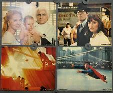 Superman 1978 Original 8X10 Vestíbulo Tarjeta Juego Christopher Reeve Margot