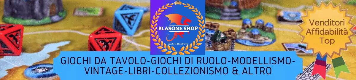 BLASONE SHOP GIOCHI & MODELLISMO 🧙