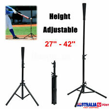 Baseball Softball Batting Tee Tripod Travel Training Aids Height Adjustable AUS