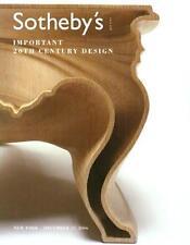 Sotheby's /// 20th C. Design Deco Art Post Auction Catalog 2006