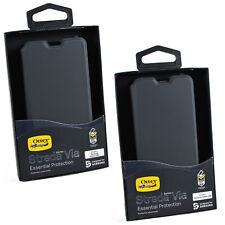 New OtterBox Strada Via Samsung Galaxy S10 & S10+ Booklet Folio Flip Case Cover