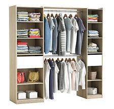 RIESIGER Kleiderschrank #5077 begehbar offen Garderobe Schrank Regal Schublade