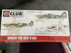 Airfix Club A82013 1:72 Scale - Under The Red Star - Limited Edition Model Kit