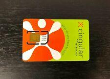 New but Older Cingular Wireless Gsm Cell Phone 32k Sim Card