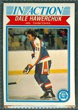 Dale Hawerchuk 1982-83 OPC '82 O-Pee-Chee NHL Card #381 NMa Winnipeg Jets