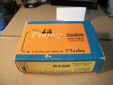 Rare PLAYBOY PB678 Vintage Transistor Radio  In Original Box  With ACC And Works