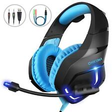 Gaming Headset Music Headphone Mic For PC Laptop PS3 PS4 Xbox One Xbox 360