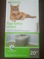 Sophresh Drawstring Liners Xxl 30 Ct. For cat litter
