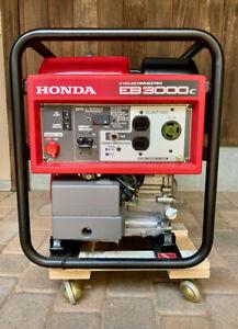 Honda Power Equipment EB3000C 3000W Portable Gas Industrial Generator 06074 ONLY