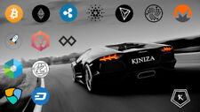 Crypto Currency - BTC - XRP - XLM - ADA - IOTA - TENX - TRON - SIA - GOLEM Coins