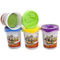Plastilina Disney Toy Story para Niños 4 Frascos Pasta Modelado Colorido 2744