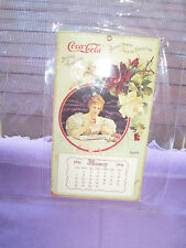 COCA COLA  CALENDER 1996 -MAGNET ON BACK- VICTORIAN GIRL PIC.1990