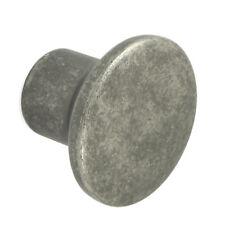 Pewter Finish Cupboard Door / Drawer Pull Knob | kitchen cabinet handle