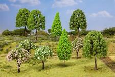 Faller 181526 HO 10 Deciduous Trees, Sorted # NEW ORIGINAL PACKAGING #