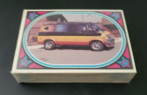 Vintage 1975 Donruss TRUCKIN' Trading Cards Complete Set of 44 Cards.