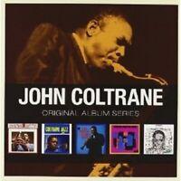 COLTRANE,JOHN - ORIGINAL ALBUM SERIES 5 CD BOX SET NEW