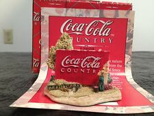 "Lilliput Lane Coca Cola ""Country Canvass"" New in box with deed"